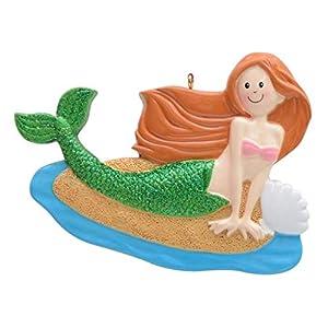 41lm087oRVL._SS300_ 100+ Mermaid Christmas Ornaments