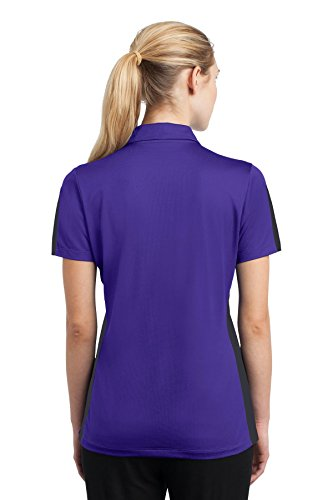 Purple Grey Polo Donna Sport tek ztqyS