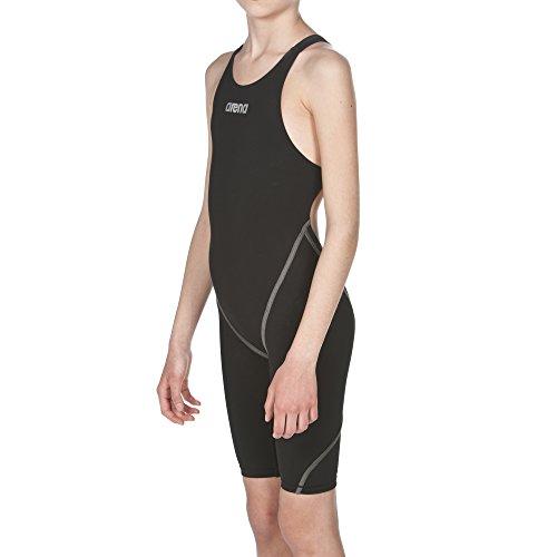 arena Girl's Powerskin ST 2.0 One Piece Racing Swimsuit, Black, 28 - Girls Race