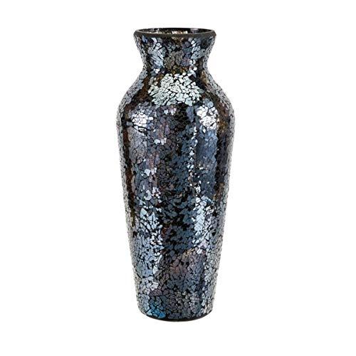 Mosaic Harvest (Imax 80157 Harvest Mosaic Vase, Blue)