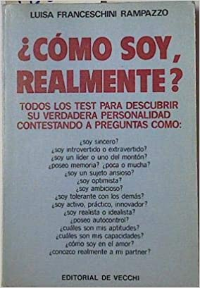 Como Soy, Realmente ? (Spanish Edition): Luisa Franceschini Rampazzo: 9788431503864: Amazon.com: Books