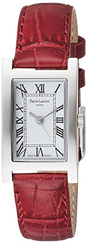 PIERRE LANNIER watch rectangle watch P475A610C56 Ladies