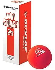 Dunlop Spaß Mini Squash Ball–3Ball Pack