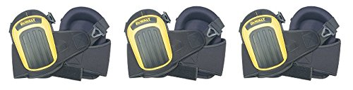 DEWALT DG5204 Professional Kneepads with Layered Gel and Neoprene Fabric Liner (3-(Pack))