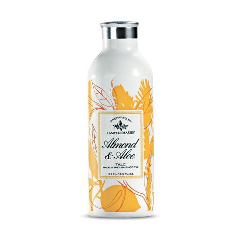 Caswell-Massey Almond and Aloe Talc, 3.5 Ounce