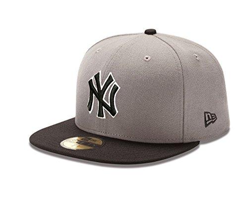 MLB New York Yankees MLB Basic Stm/Gry 59Fifty, STORM GRAY/BLACK, 7 1/4 ()