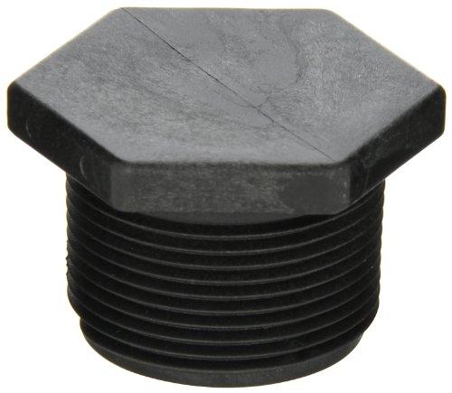 Banjo PLUG125 Polypropylene Pipe Fitting Plug Schedule 80 1-14 NPT Male