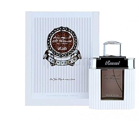 Rasasi Al Wisam Day Spray Perfume, 100ml (White) Perfume at amazon