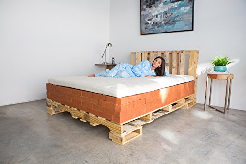 KLOUDES Mattress Topper (Full)- Experience A New Mattress Without The Cost Of One… by KLOUDES