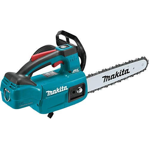 Makita XCU06Z LXT Lithium-Ion Brushless Cordless 10 Top Handle Chain Saw, Tool Only