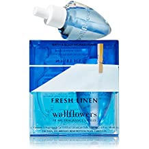 Bath & Body Works Wallflowers Home Fragrance Refill Bulbs 2 Pack Fresh Linen