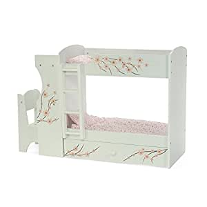 Amazon Com Emily Rose Fits American Girl Doll Bunk Bed