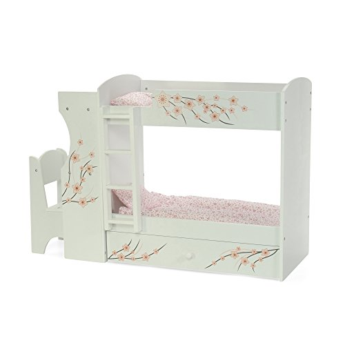 Fits American Girl Doll Bunk Bed & Desk Combo - 18