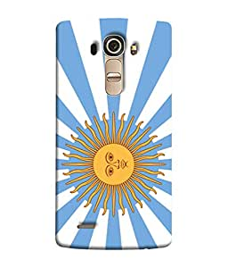 ColorKing Football Argentina 17 Multicolor shell case cover for LG G4