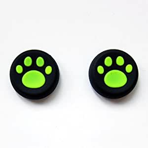 PS4 Xbox One 360 Controller CAT PAWS Thumb Analog stick Grips ...