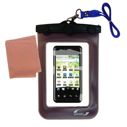 Underwater Case for the LG p500 – 天気、安全に保護防水ケースagainst the elements   B004AQMDZU