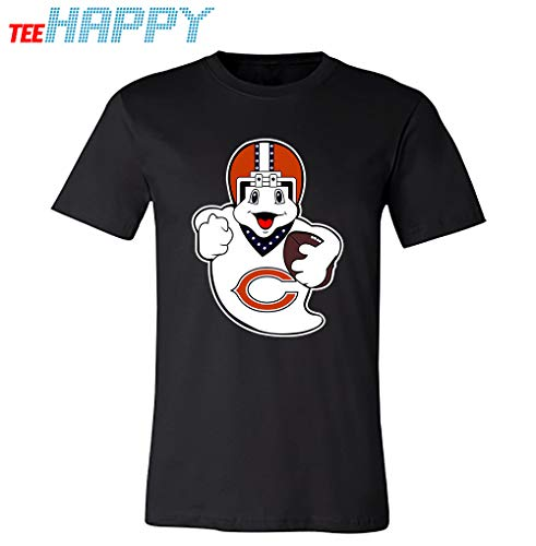 Ghost Boo Chicago_ Bears Football Teams Shirt by Tee Happy