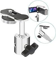 Neewer Videokamera digital inspelningsadapter med minikulhuvud – 360 graders panna och 180 graders lutningsrörelse för...