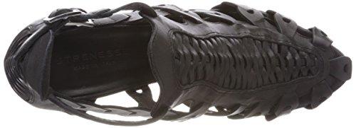 Strenesse Dames Pomp Amal Slingback Sandalen Zwart (black)