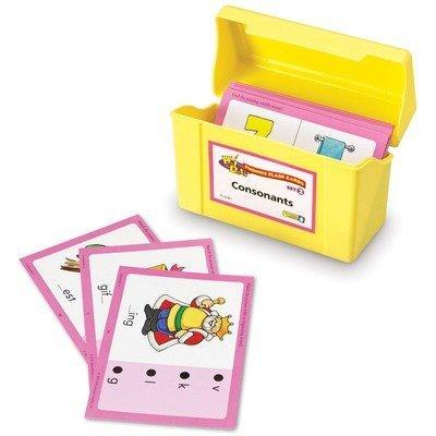- Educational Insights 2781 Set 2: Consonants (Hot Dots Phonics Flash Cards)