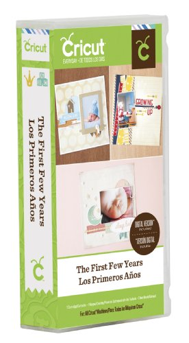 Cricut The First Few Years Cartridge Paper Crafting Tool by Cricut