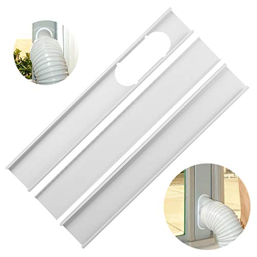 ♛Euone Home ♛Clearance♛, Mobile air conditioner universal adjustable window sealing plate splint baffle