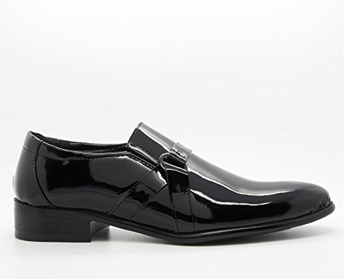 Sandalen Schwarz Footwear Keilabsatz London Plateau Herren mit Durchgängies WIqq0zU