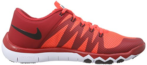 Nike Herren Free Trainer 5.0 V6 Trainingsschuh Gym Red / Blk / Brght Crmsn / Weiß