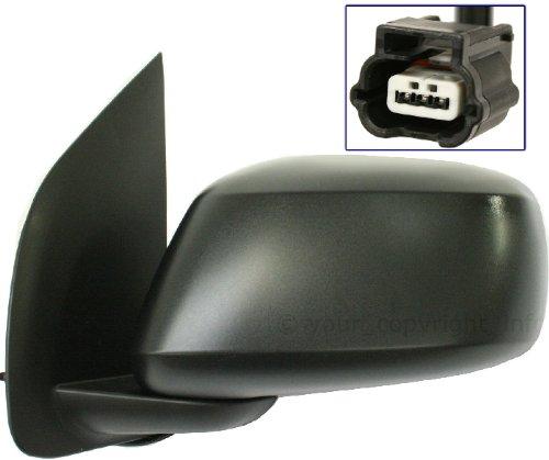 For Nissan FRONTIER 05-11 SIDE MIRROR LEFT DRIVER, POWER, FOLDING, KOOL-VUE, ()