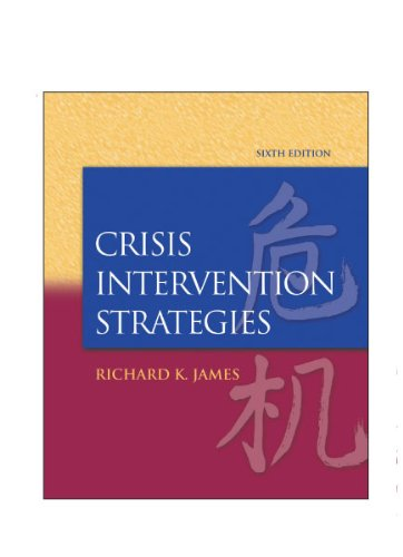 Crisis Intervention in Action DVD for James