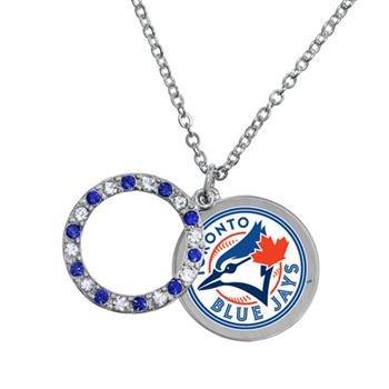 (Game Time Offical MLB TORONTO BLUE JAYS Disc Necklace)