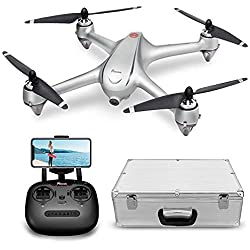 Potensic D80 RC Drone with 1080P Camera Live Video and GPS Return Home, Strong Brushless Motors, includes Compact Suitcase