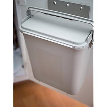Zero Waste Mountable Kitchen Compost Bin   1.5 Gallon, Cabinet Door, Under  Sink,