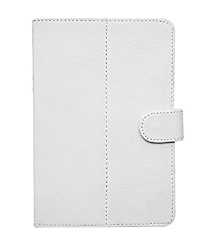 Fastway Flip Cover For Samsung Galaxy Tab 3 V  White Cases   Covers