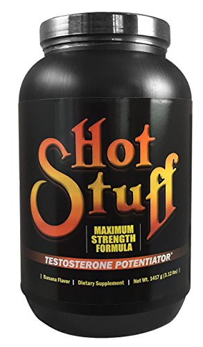 House of David Hot Stuff All-In-One Sports Supplement, Banana, 3.12-Pound