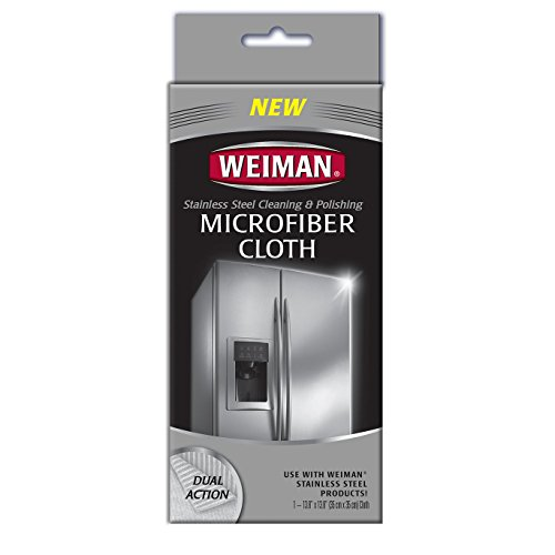 Weiman Microfiber Cloth for Stainless steel (Refrigerator Polish compare prices)