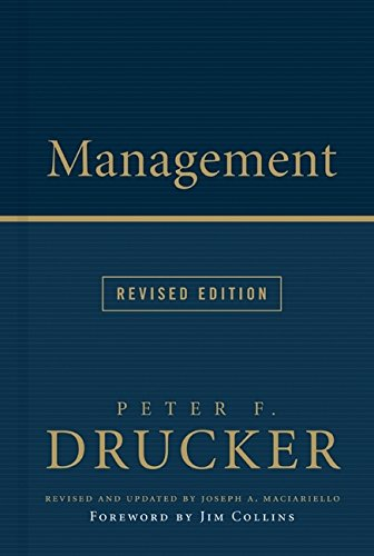 Management by Peter F. Drucker