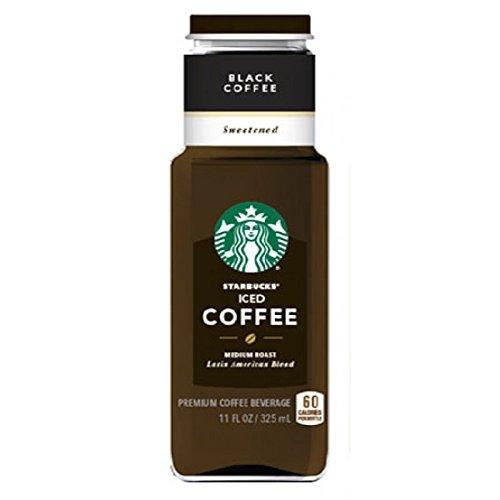 Starbucks Disgraceful Iced Coffee Sweetened 11 oz Glass Bottles - Pack of 12