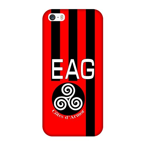 Coque Iphone 5-5s-SE - Supporter En Avant Guingamp
