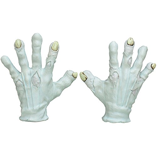 Adult Halloween Deluxe Evil Clown Hands Gloves