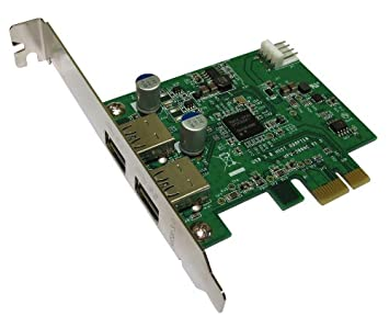 USB 3,0 SuperSpeed 2 Puerto Externo 5Gbps PCI Express ...
