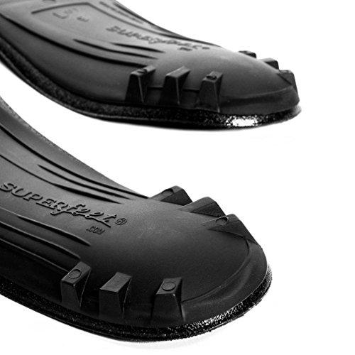Superfeet Black Capsule Insoles Calzado Accesorios Negro, Negro, 36.5-38.5