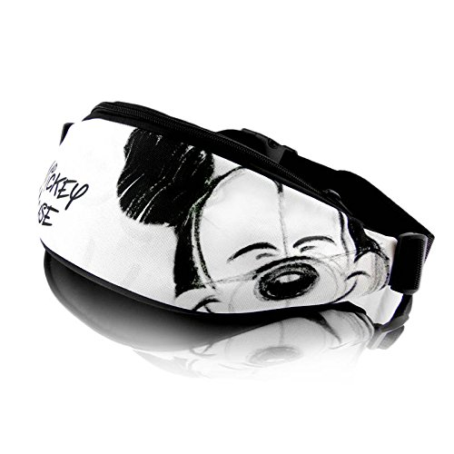 Disney Mickey Mouse SMILE COLLECTION Hip bag bum bag fanny pack belt bag high quality W1