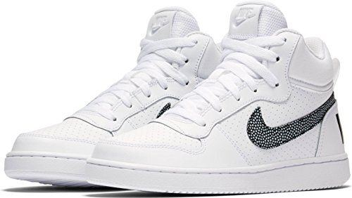 Nike Boys Nike COURT Borough Mid (GS) Shoe 839977 105