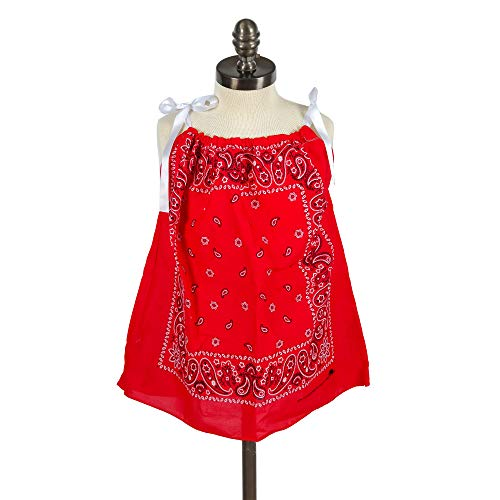 Little Girls Bandana Dress or Bandana Shirt - many colors available