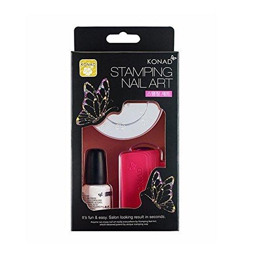 (KONAD Nail Art Stamping Set (Stamping Set))