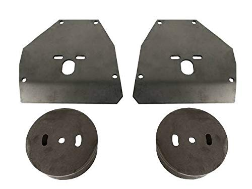 Chassis Tech Chevy C10 Front Air Ride Suspension Brackets for Mounting Air Bags 1963-72 C-10 Unbranded BAGBKT-F-C10-001