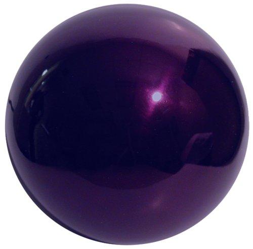 12 Inch Gazing Globe - VCS PRP12 Mirror Ball 12-Inch Purple Stainless Steel Gazing Globe