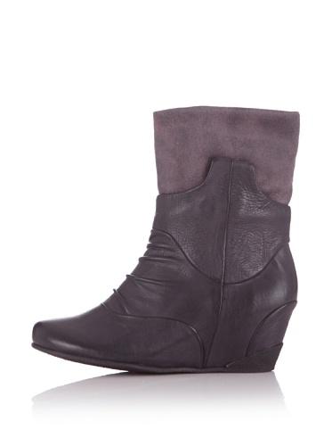 Högl - Botas de Piel para mujer negro gris gris