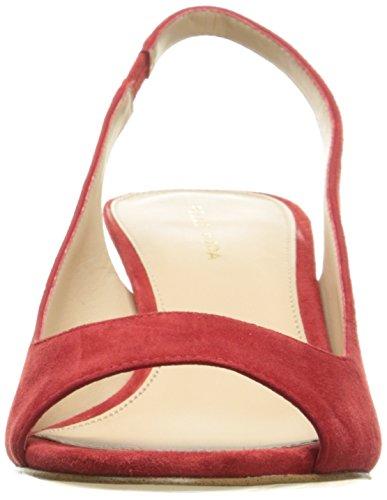 Women's Red Su Belini Pelle Pump Moda pvxq57B